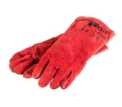 Пятипалые перчатки сварщика WESTER WG01