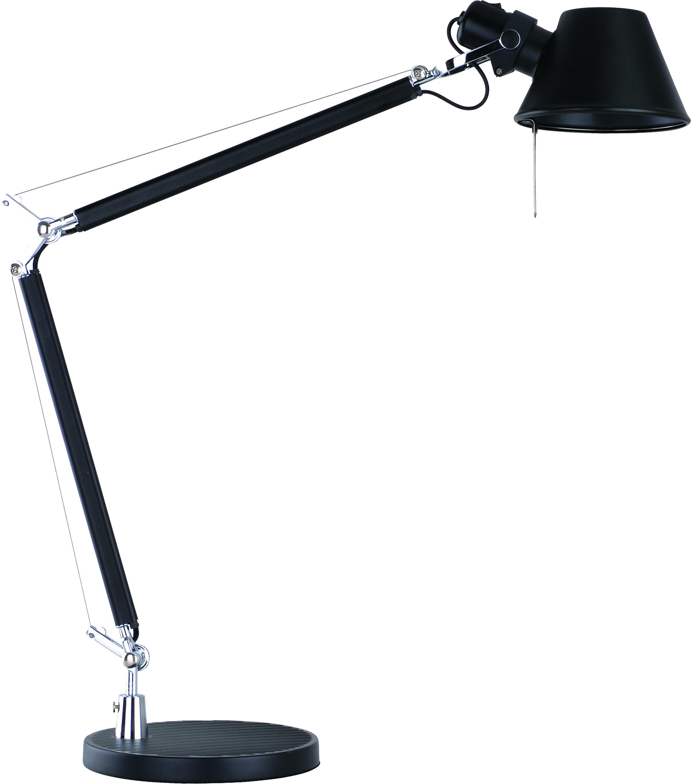Лампа настольная Arte lamp A2098lt-1bk настольная лампа kolarz austrolux office a1312 71 bk