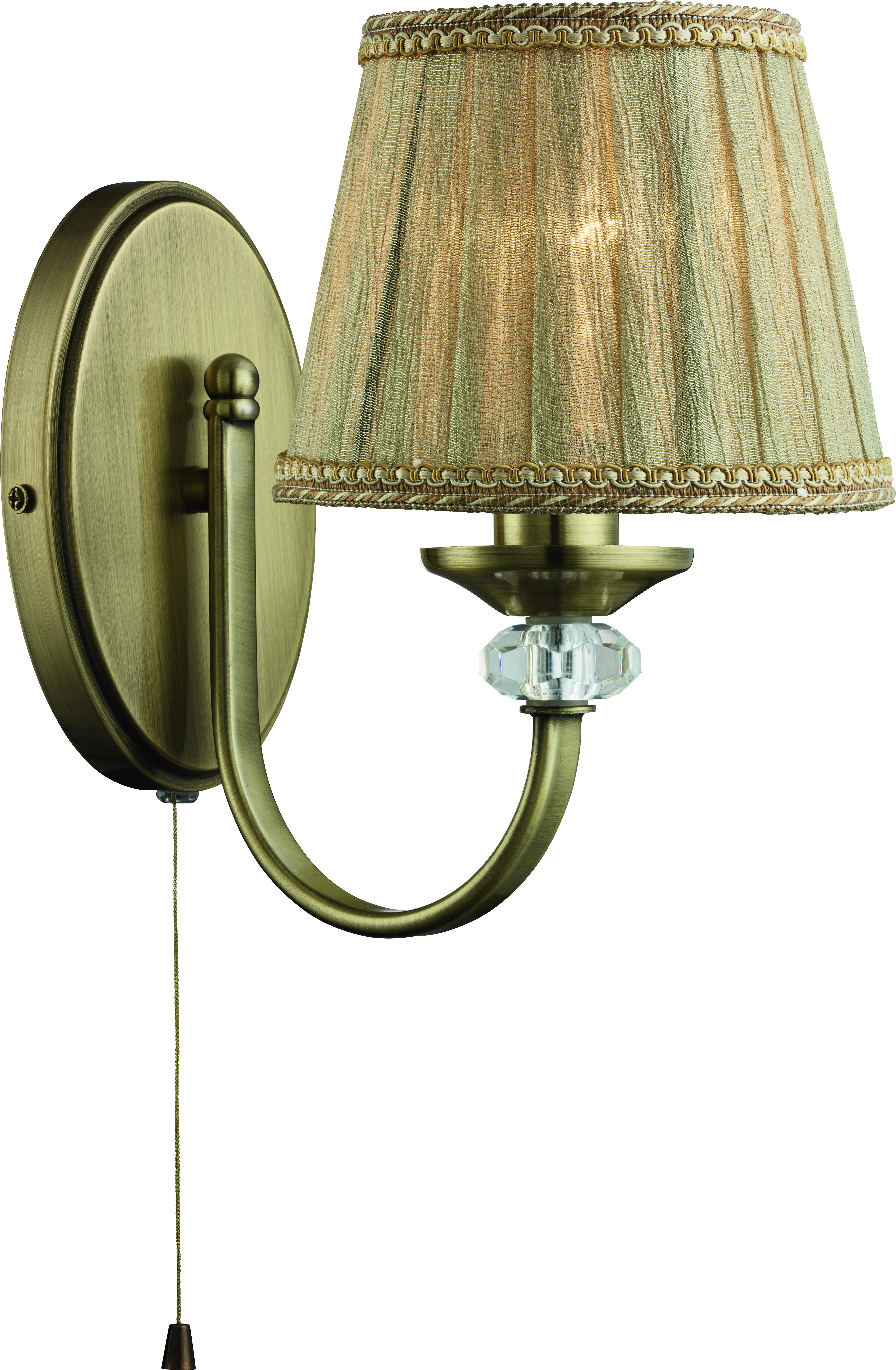 Бра Arte lamp A1180ap-1ab светильник настенный arte lamp sylvia a1180ap 1ab 4640015248774