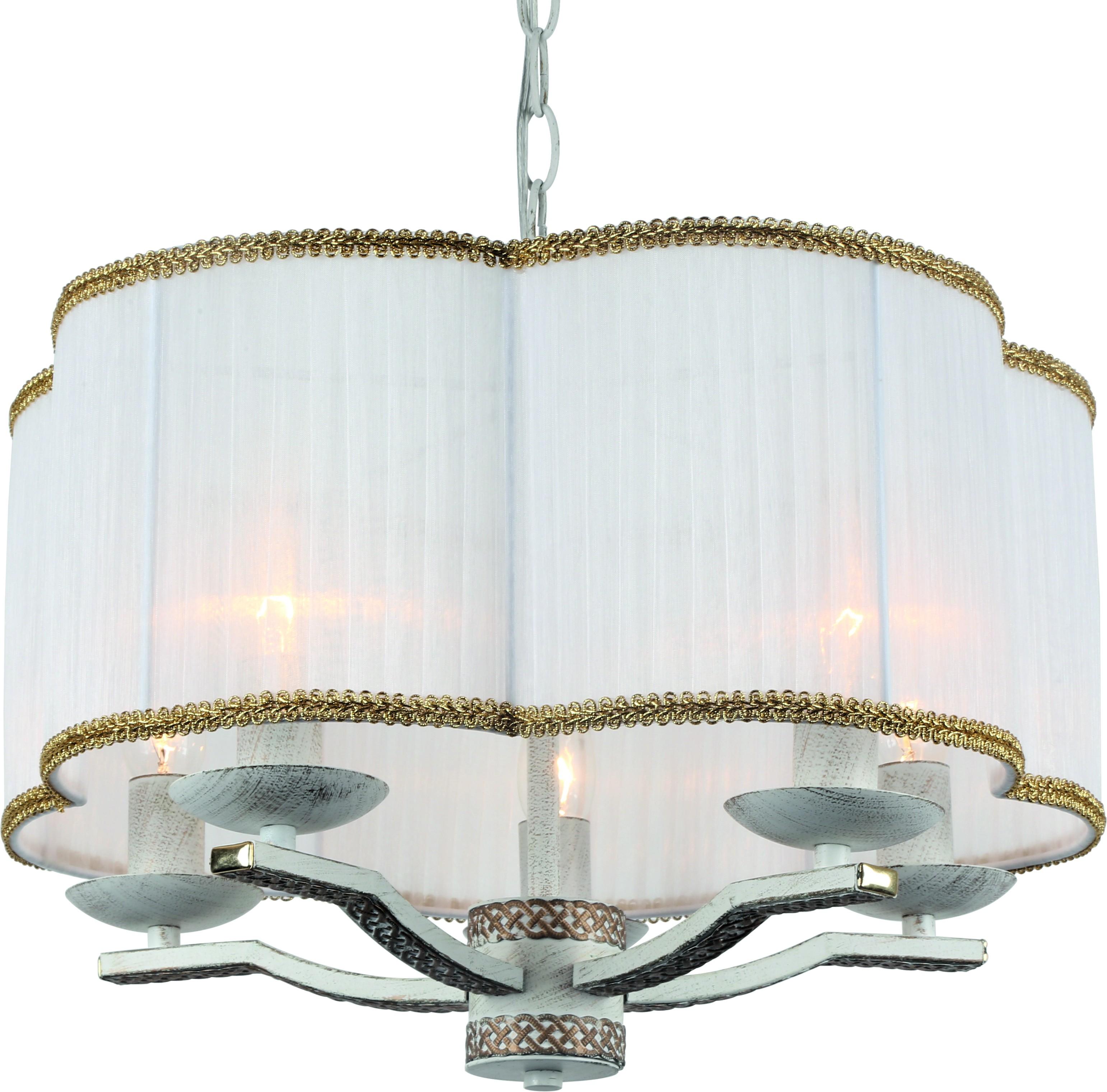 Люстра Arte lamp A6555sp-5wg подвесная люстра arte lamp a6555sp 5wg