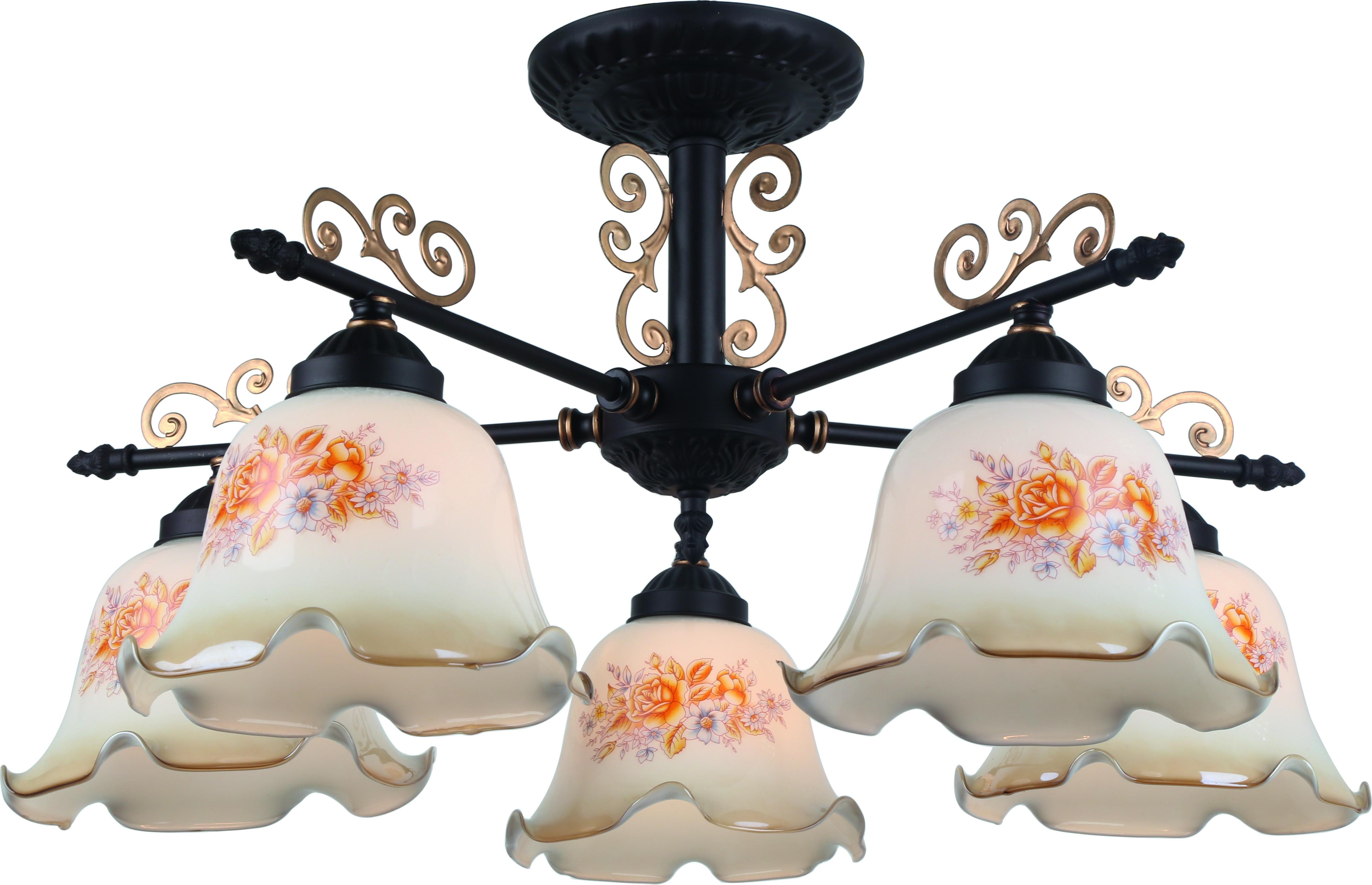 Люстра Arte lamp A6582pl-5br цена и фото