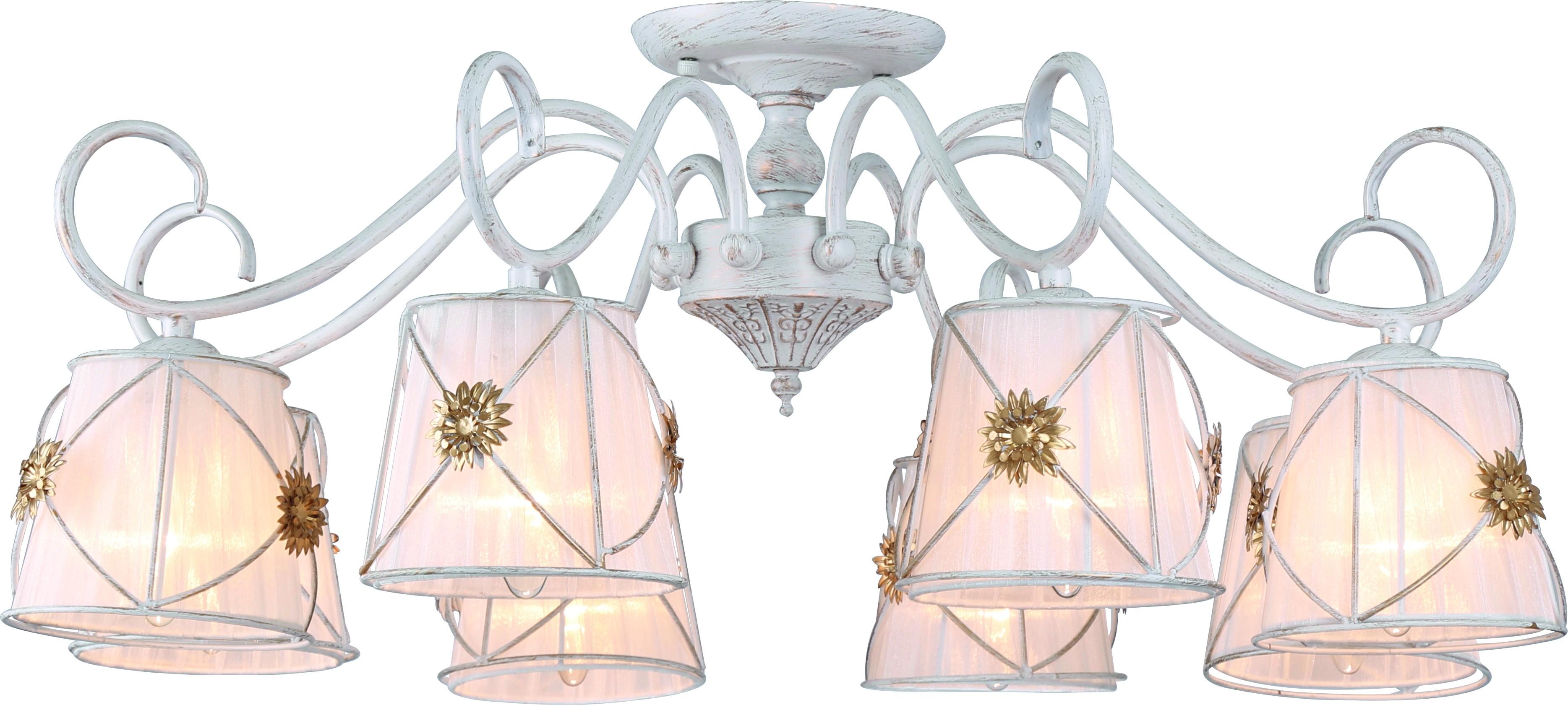 Люстра Arte lamp A5495pl-8wg люстра на штанге arte lamp fortuna a5495pl 8wg