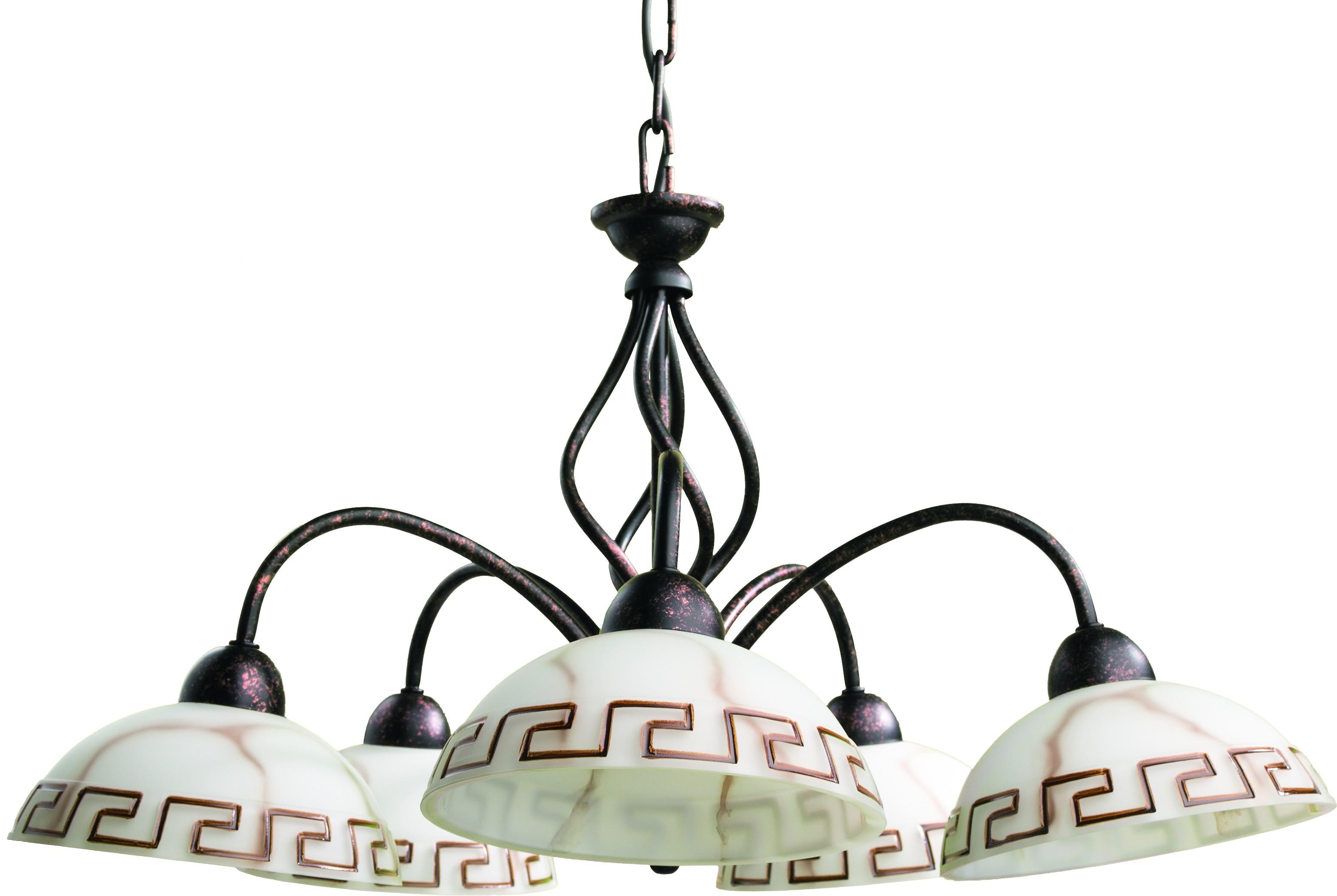 Люстра Arte lamp A6884lm-5br люстра на штанге arte lamp aroma a6582pl 5br