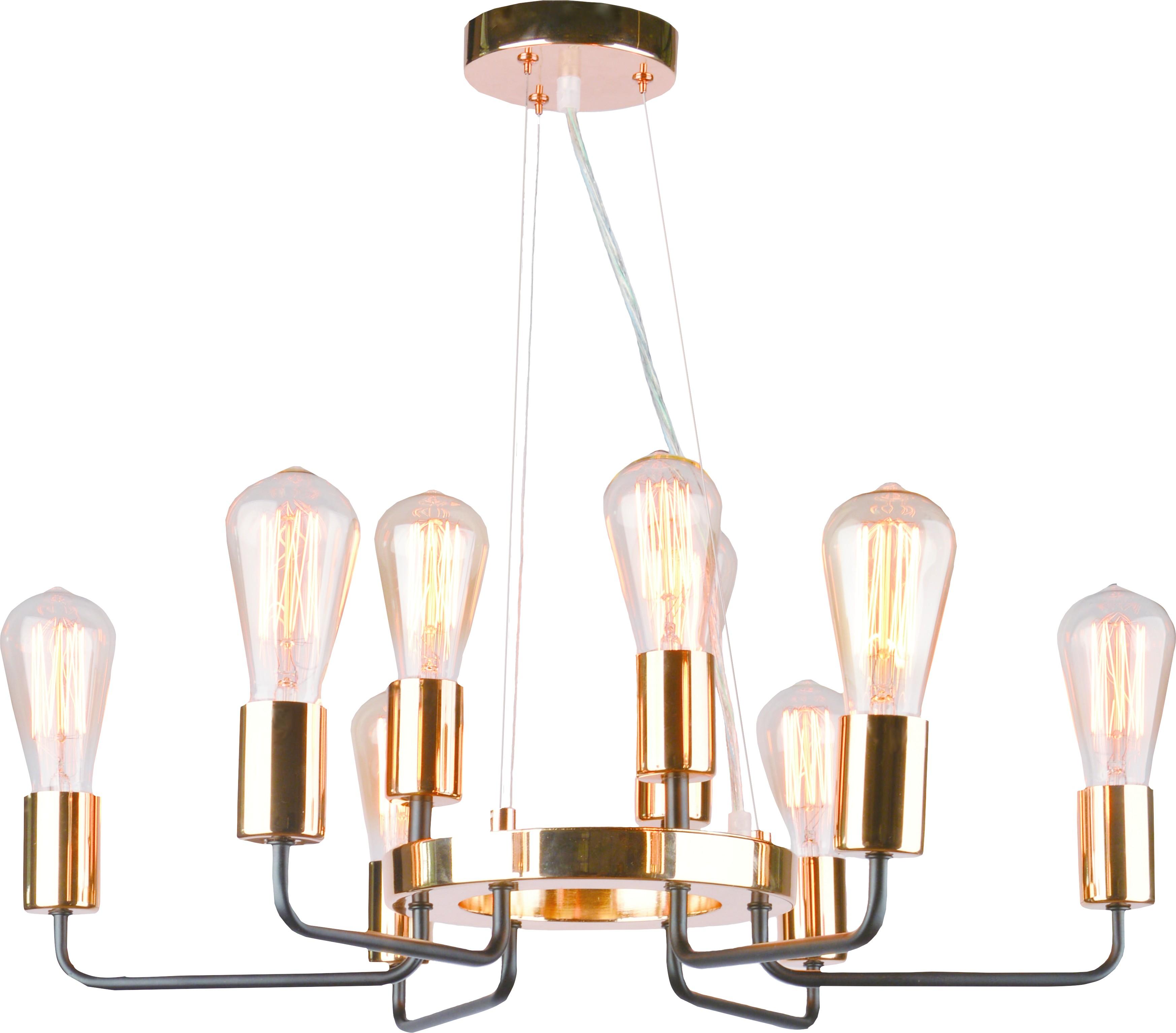 Люстра Arte lamp A6001lm-9bk подвесная люстра arte lamp gelo a6001lm 9bk
