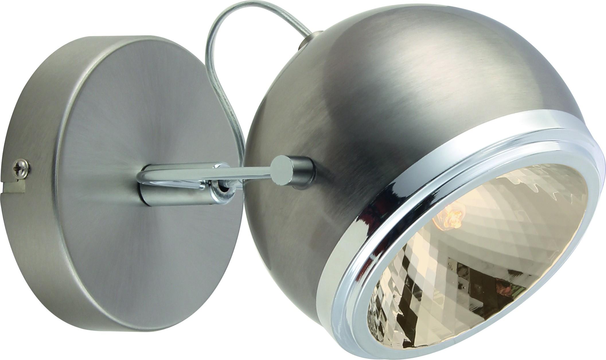 Спот Arte lamp A4509ap-1ss встраиваемый спот точечный светильник arte lamp accento a3219pl 1ss
