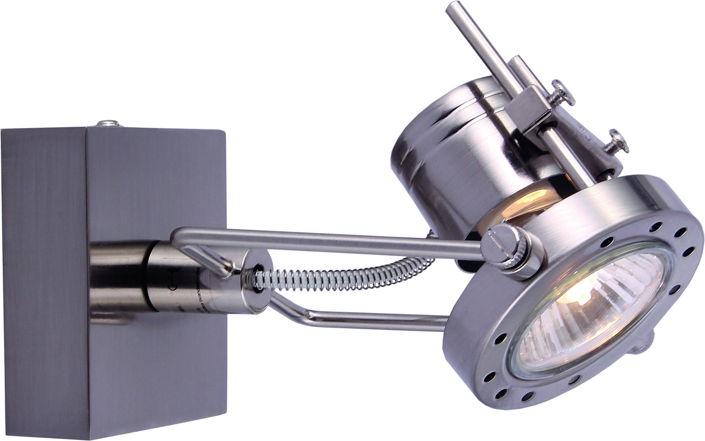 Спот Arte lamp A4300ap-1ss встраиваемый спот точечный светильник arte lamp accento a3219pl 1ss