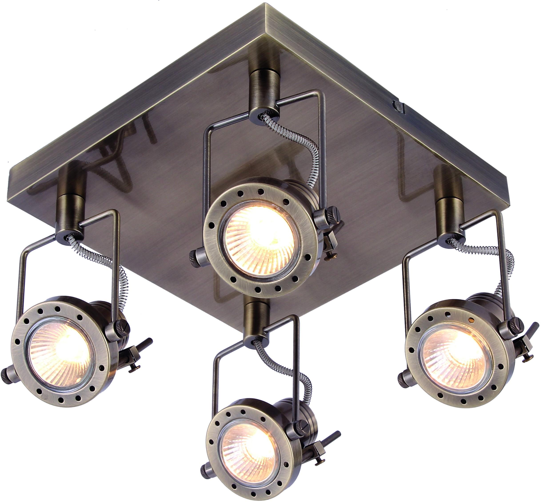 Спот Arte lamp A4300pl-4ab arte lamp потолочный светильник arte lamp a4300pl 4ab