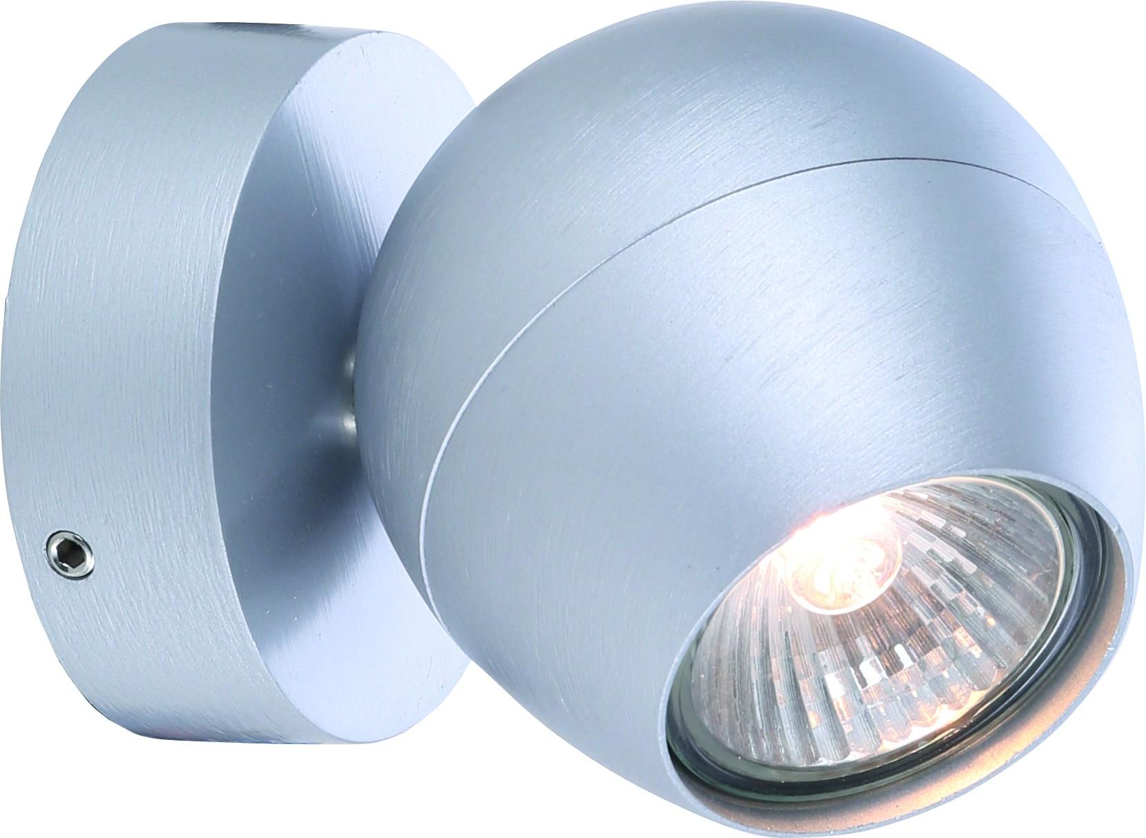Спот Arte lamp A5781ap-1ss встраиваемый спот точечный светильник arte lamp accento a3219pl 1ss
