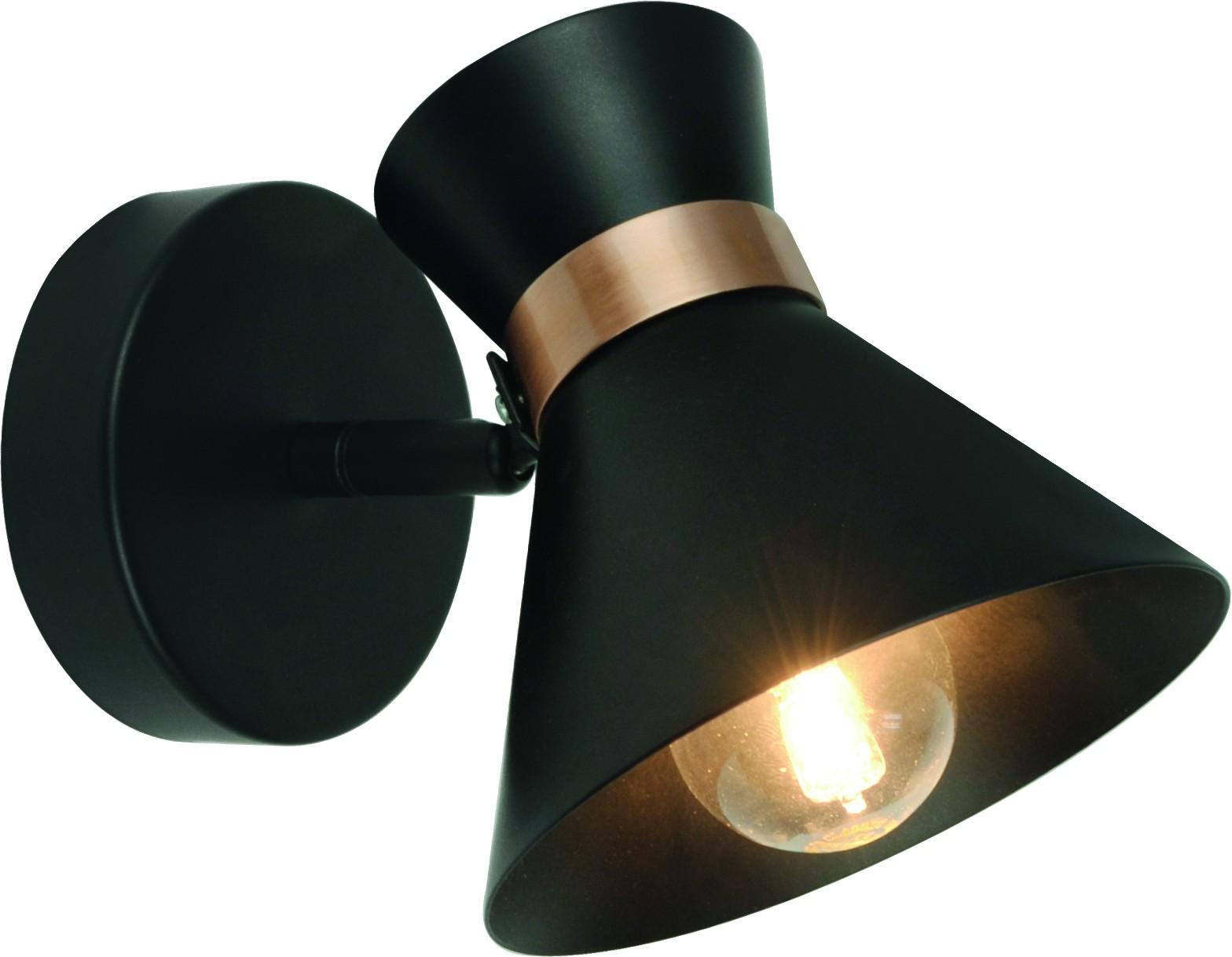 Спот Arte lamp A1406ap-1bk от 220 Вольт
