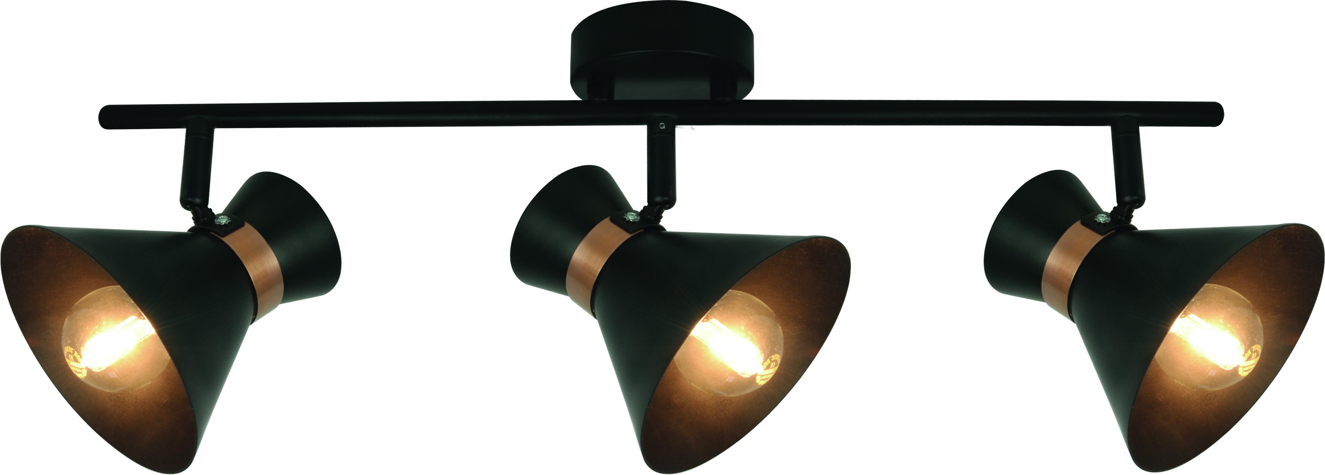Купить Спот Arte lamp A1406pl-3bk