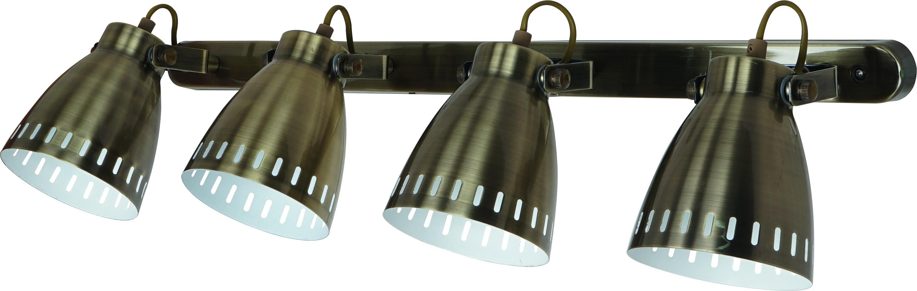 Спот Arte lamp A2214pl-4ab бра arte lamp a2214pl 4ab