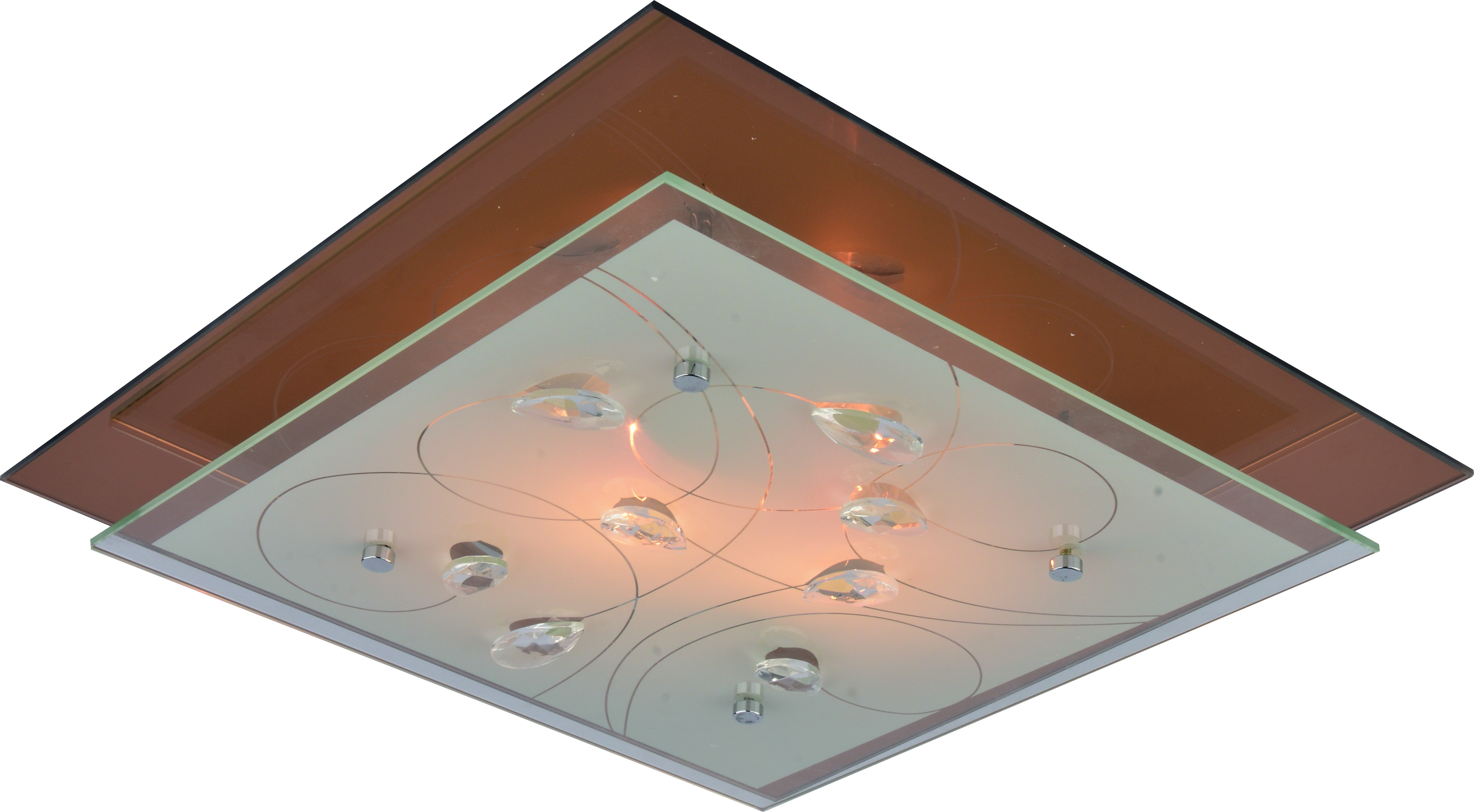 Светильник настенно-потолочный Arte lamp A4042pl-2cc цена и фото