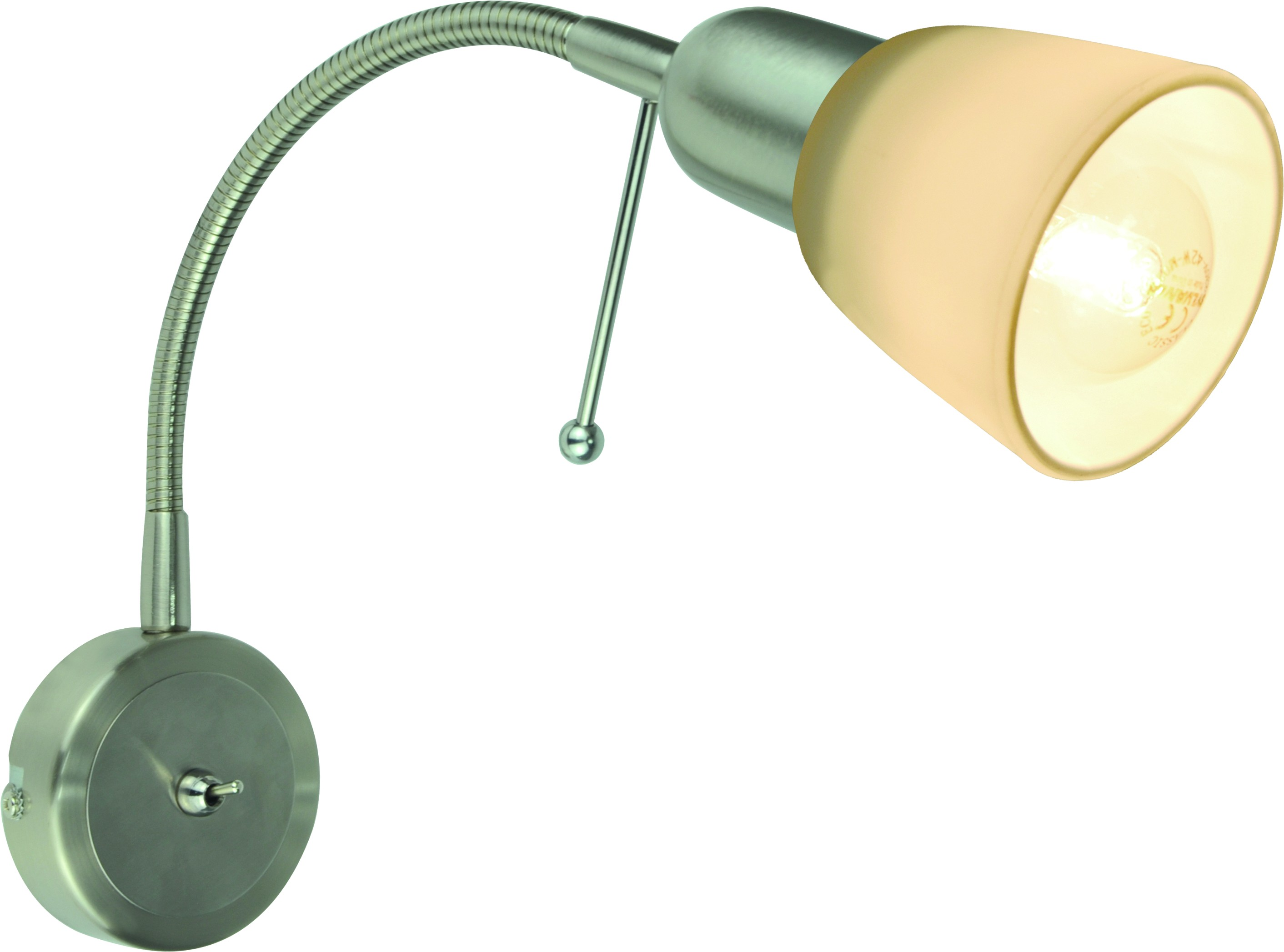 Бра Arte lamp A7009ap-1ss торшер 43 a2054pn 1ss arte lamp 1176958