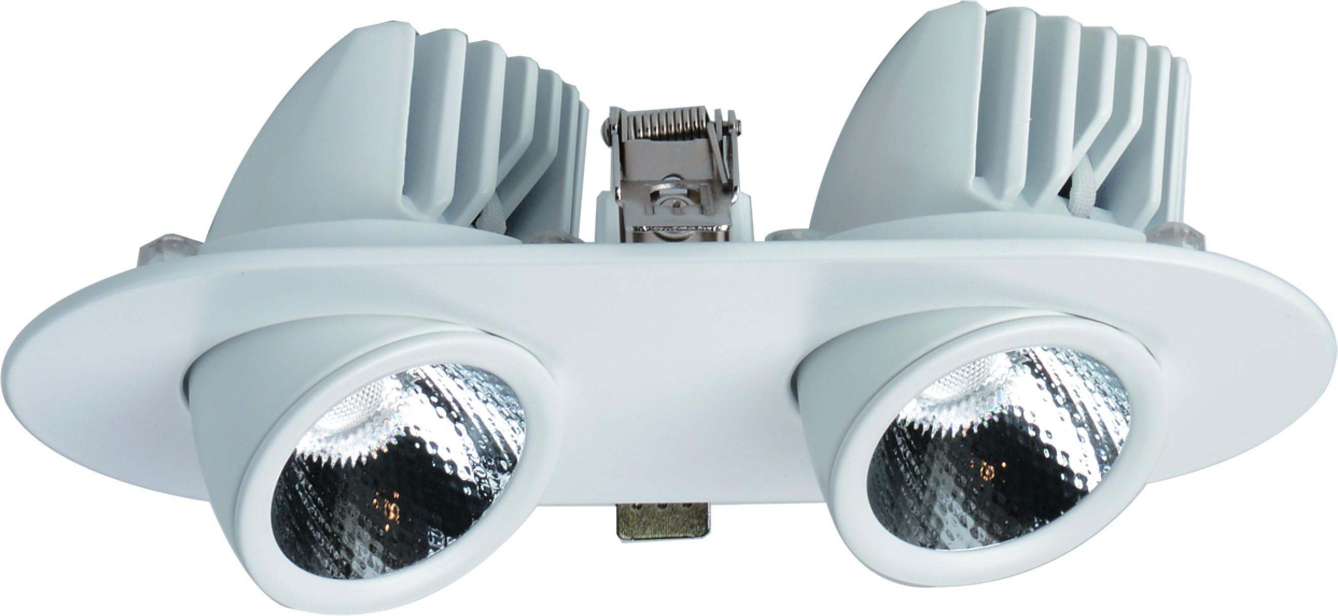 Светильник встраиваемый Arte lamp A1212pl-2wh встраиваемый светильник arte lamp studio a3007pl 2wh