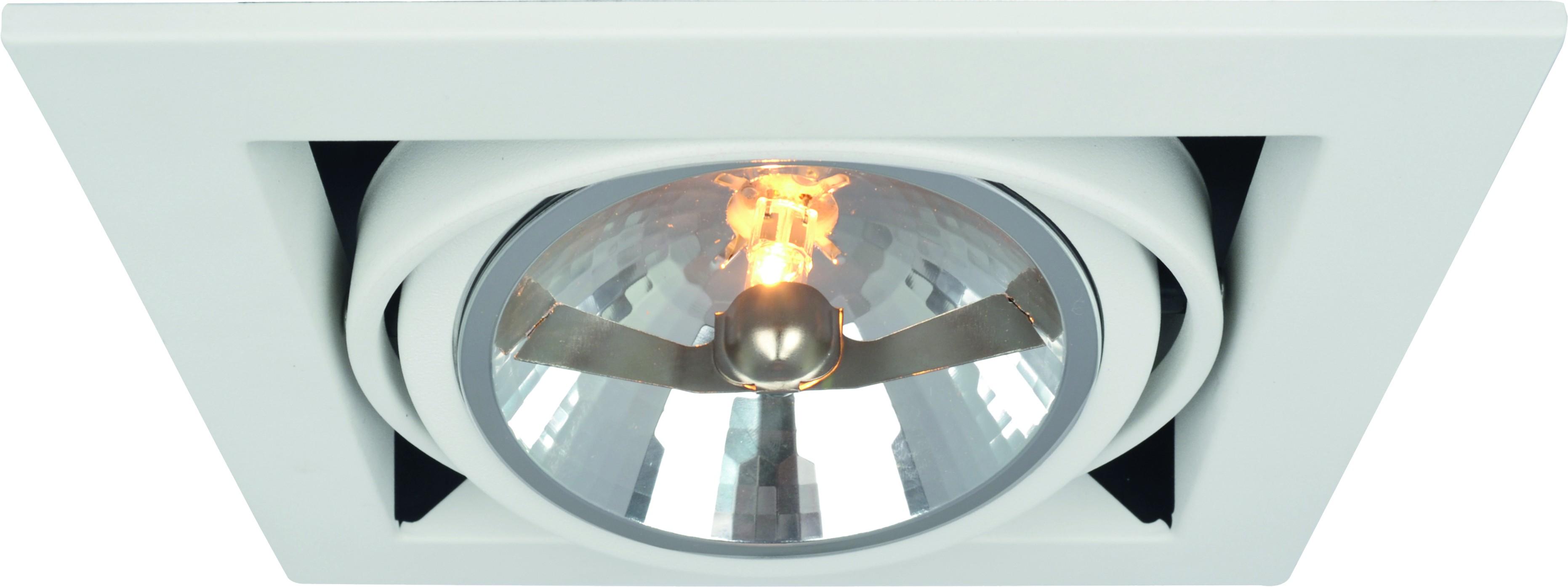 Светильник встраиваемый Arte lamp A5935pl-1wh встраиваемый светильник arte lamp cielo a7314pl 1wh