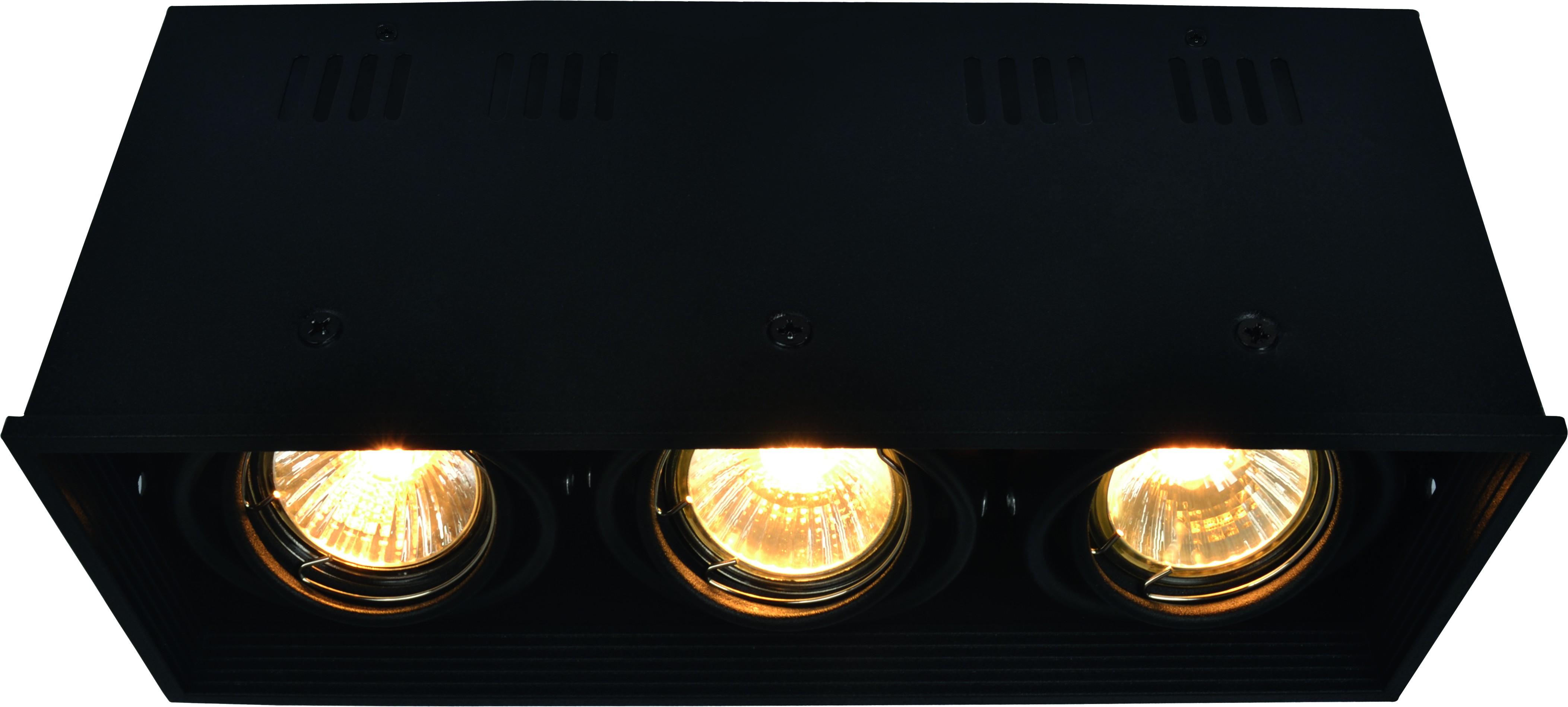 Купить Светильник встраиваемый Arte lamp A5942pl-3bk
