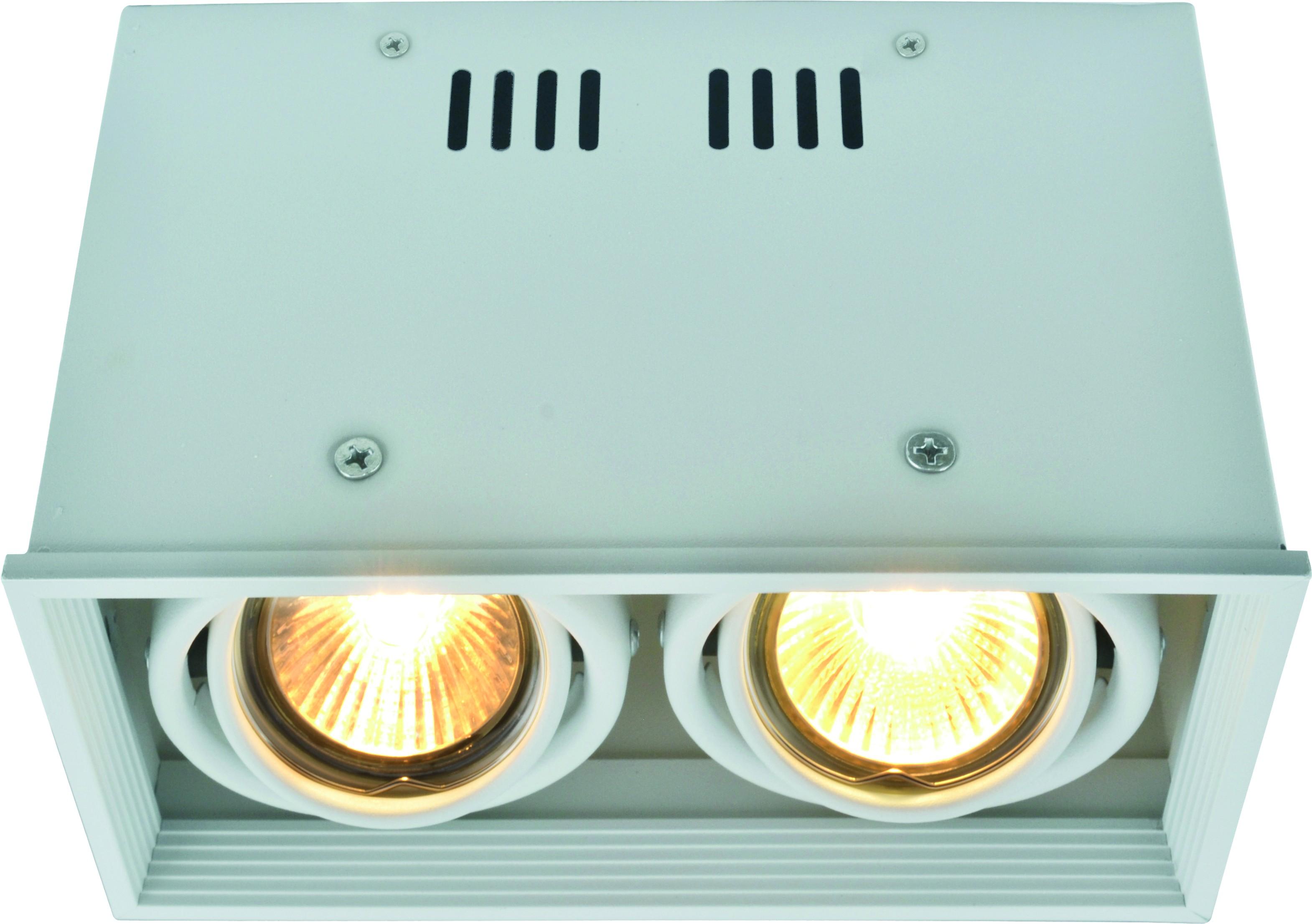 Светильник встраиваемый Arte lamp A5942pl-2wh потолочный светильник cardani a5942pl 2wh arte lamp 1183693