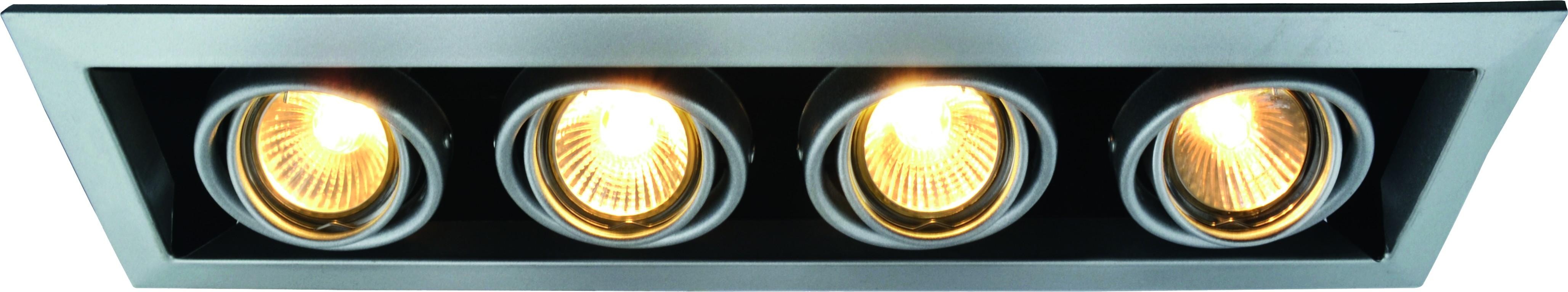 Купить Светильник встраиваемый Arte lamp A5941pl-4si