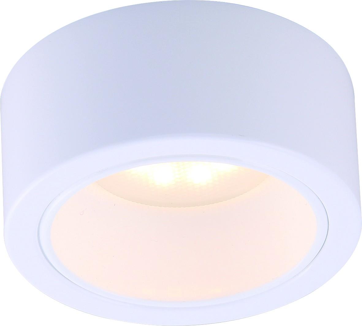 Светильник встраиваемый Arte lamp A5553pl-1wh встраиваемый светильник arte lamp cielo a7314pl 1wh