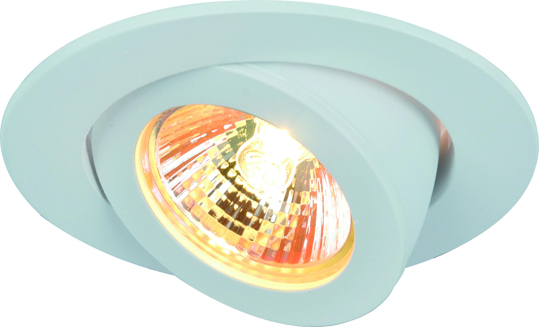 Светильник встраиваемый Arte lamp A4009pl-1wh встраиваемый светильник arte lamp cielo a7314pl 1wh