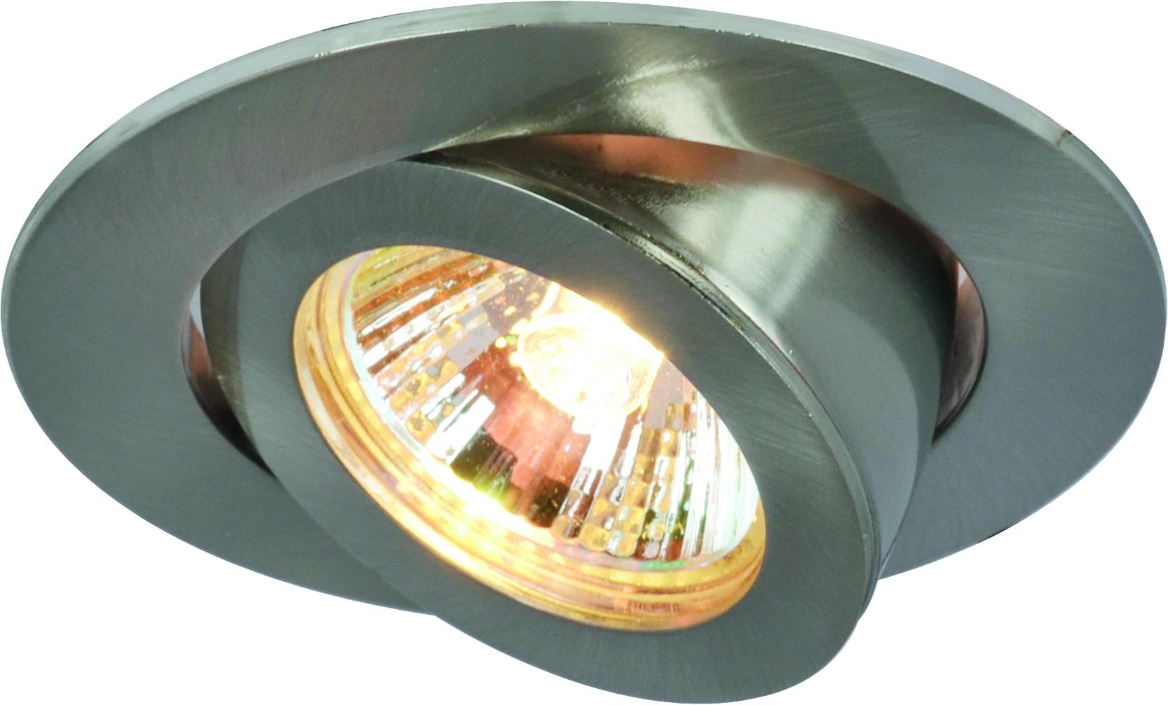 Светильник встраиваемый Arte lamp A4009pl-1ss встраиваемый спот точечный светильник arte lamp accento a3219pl 1ss