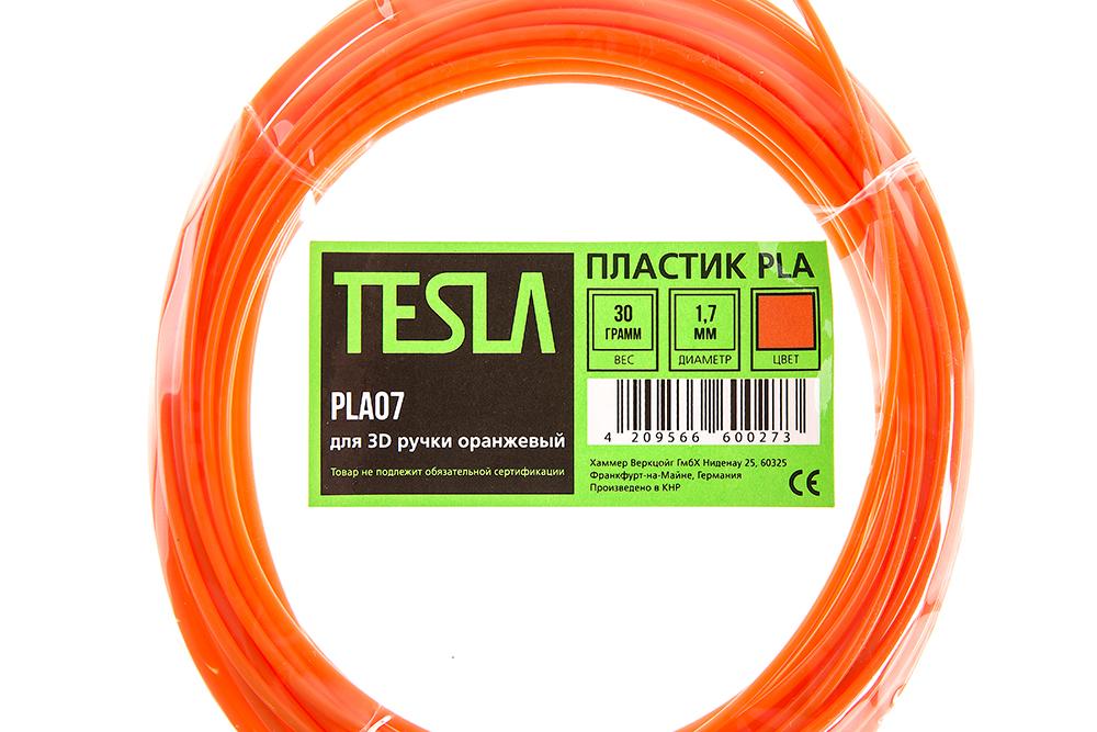 Pla-пластик для 3d ручки Tesla Pla07 оранжевый от 220 Вольт