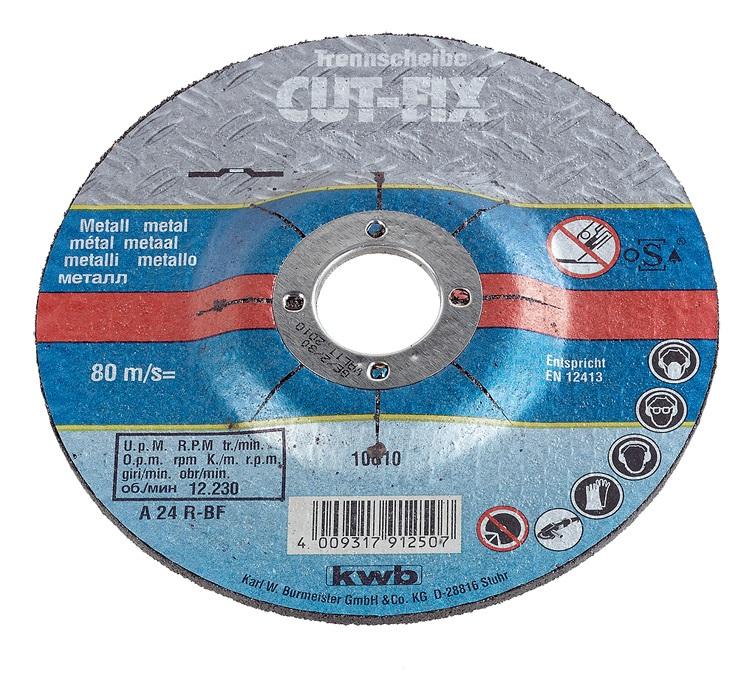 Круг отрезной Kwb 230х3х22 7919-50 кусачки бокорезы для работы с электроникой 110мм kwb silver 3893 50