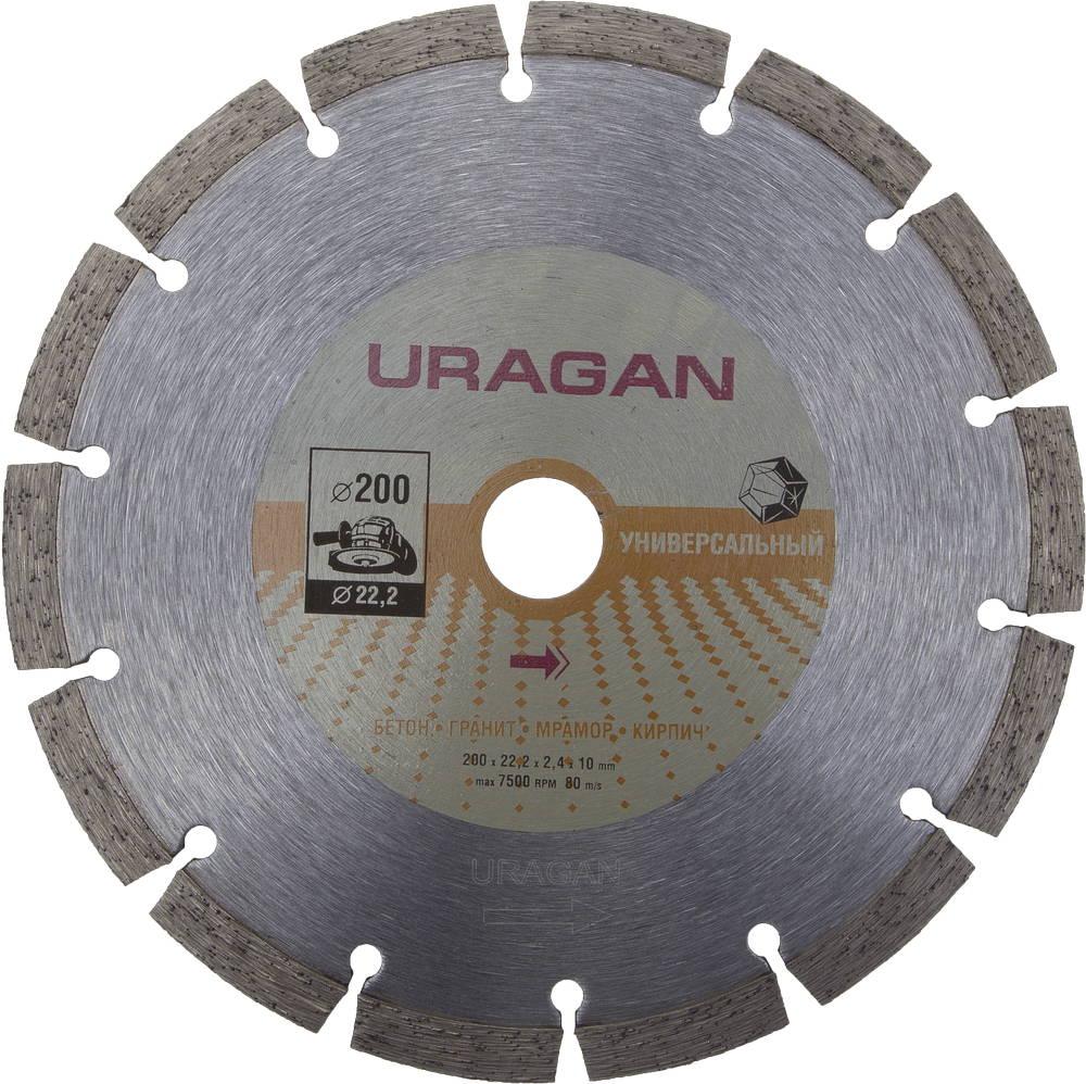 Круг алмазный Uragan 909-12111-200