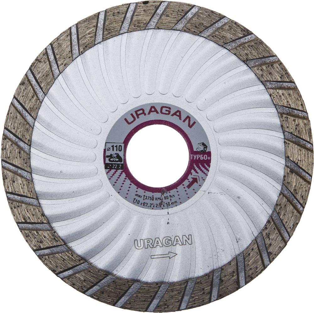 Круг алмазный Uragan 909-12151-115 диск алмазный diam 150х22 2мм master турбо 000160