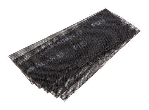 Абразивная сетка URAGAN 35555-120, P120 105х280мм (5шт.)