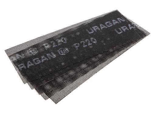 Абразивная сетка URAGAN 35555-220, P220 105х280мм (5шт.)