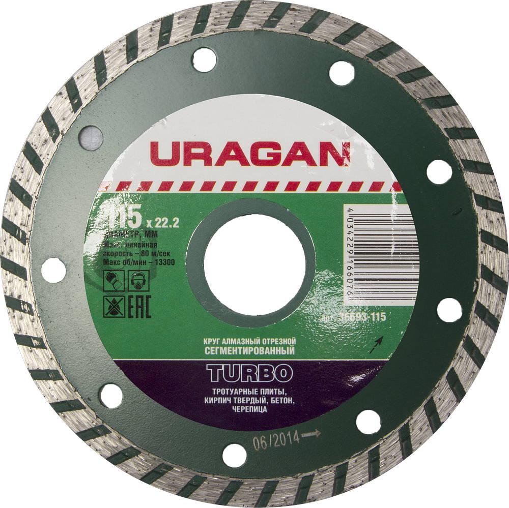 Круг алмазный Uragan 36693-115
