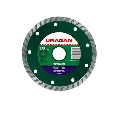 Круг алмазный Uragan 36693-125