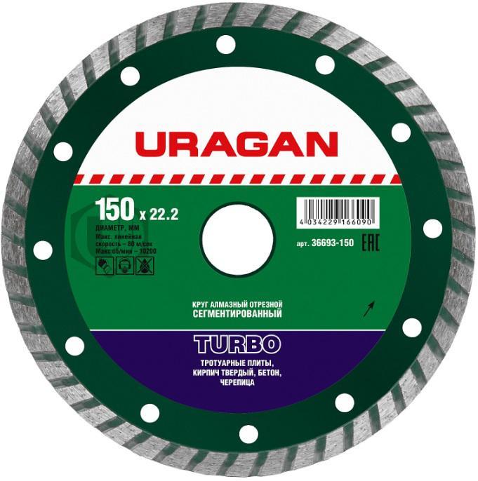 Круг алмазный Uragan 36693-150
