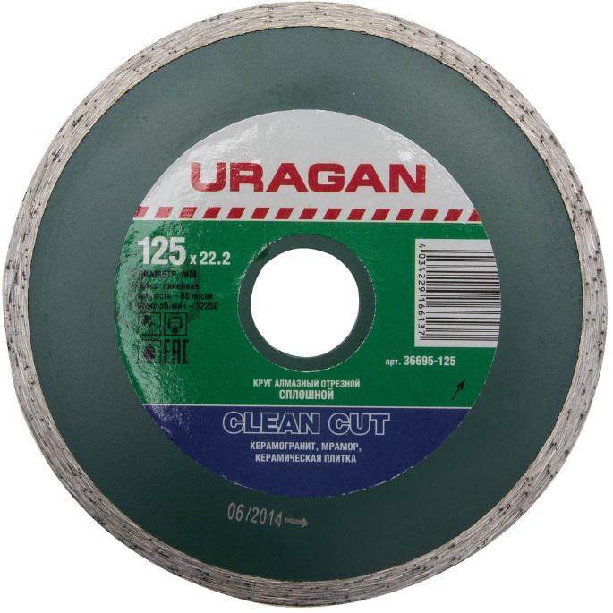 Круг алмазный Uragan 36695-125