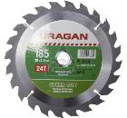 Диск пильный твердосплавный URAGAN 36800-185-20-24