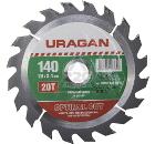Диск пильный твердосплавный URAGAN 36801-140-20-20