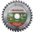 Диск пильный твердосплавный URAGAN 36801-190-30-36