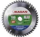 Диск пильный твердосплавный URAGAN 36802-190-20-48