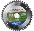 Диск пильный твердосплавный URAGAN 36802-190-30-48