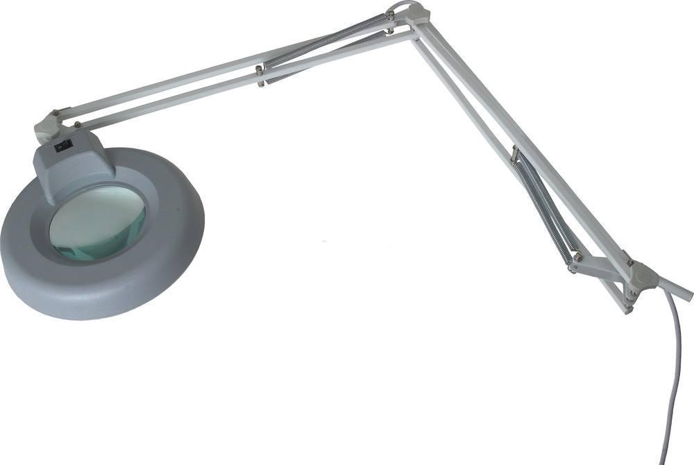 Фото - Лупа-лампа на струбцине Rexant 31-0011 лампа лупа daylight для рукоделия напольно настольная en1091