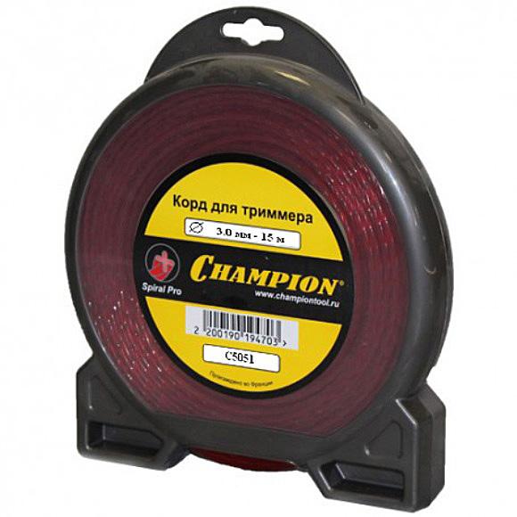 Леска для триммеров Champion C5051 акб champion dg10000e dg10000e 3 dg6501es c3506