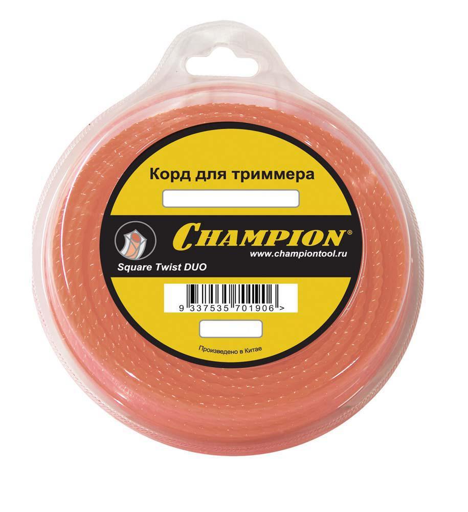 Леска для триммеров Champion C5055 champion 2 20 м