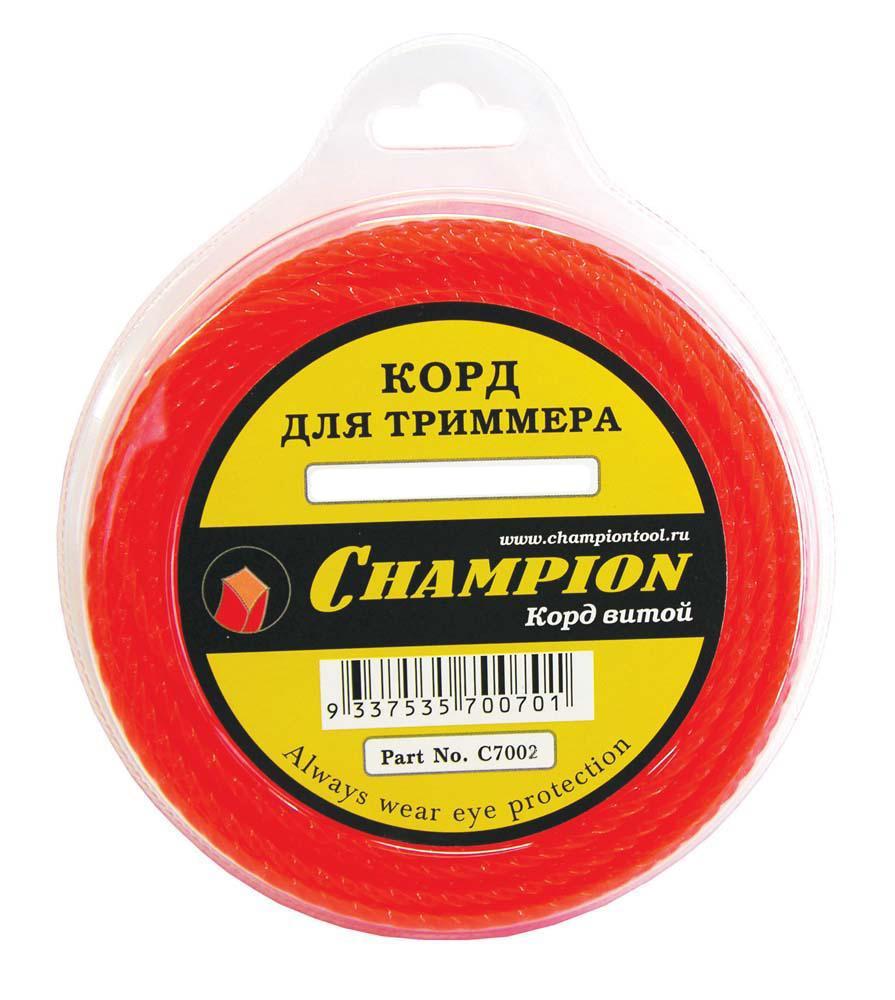 Леска для триммеров Champion C7002 champion 2 20 м