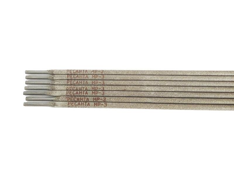 Электроды для сварки РЕСАНТА МР-3 Ф2,5 3кг электроды для сварки ресанта мр 3 ф5 0 3кг