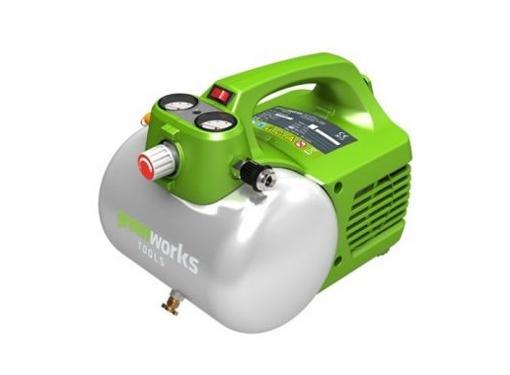 Поршневой безмасляный компрессор GREENWORKS GAC6L (4101302)