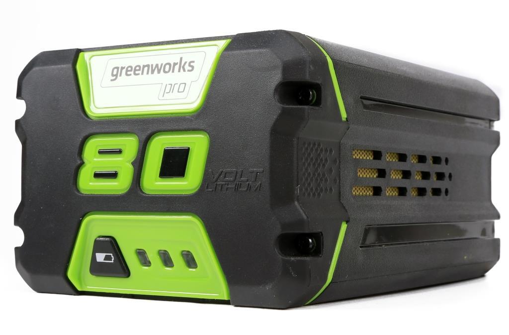 Аккумулятор Greenworks G80b4 (2901307) greenworks g40lt30