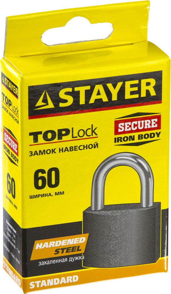 Замок Stayer Standard 37160-60