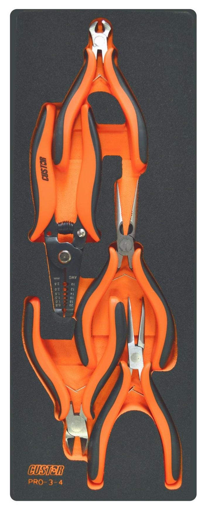 Набор инструментов Custor Pro-3-4 samsonite чемодан 4 х колесный pro dlx 5