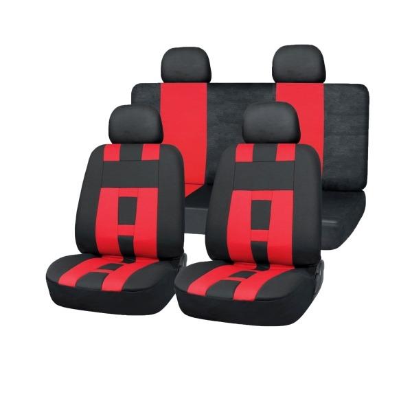 Чехол на сиденье Skyway Sw-121011 bk/rd s/s01301025 чехол на сиденье autoprofi mtx 1105 bk rd m